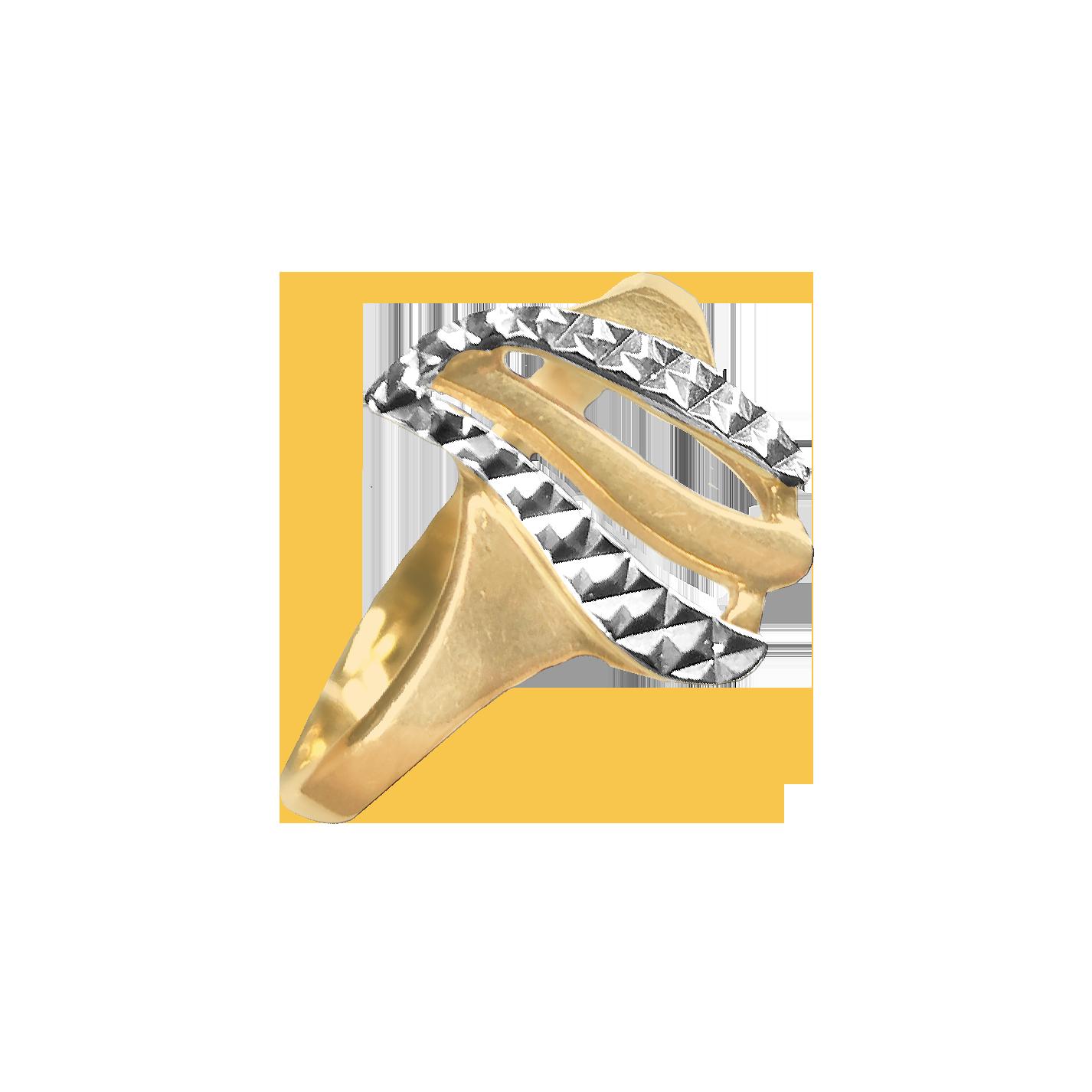 Кольцо иззолота без камня