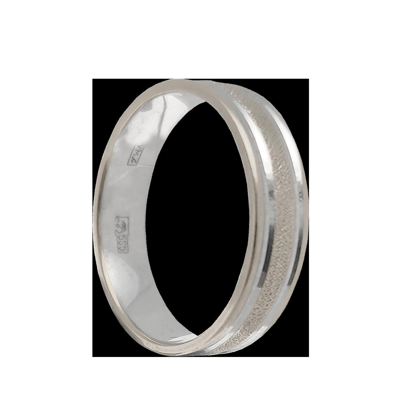 Кольцо обручальное иззолота без камня
